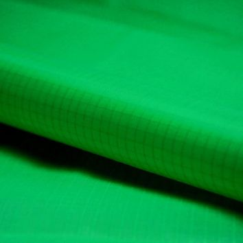 Green 5 Yards PU Coated Kite Fabric Waterproof Nylon Fabric 40D Ripstop Outdoor Tent Fabric Free Shipping