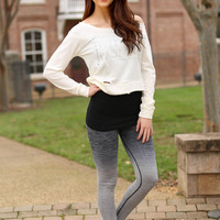 Work it out bottoms - grey