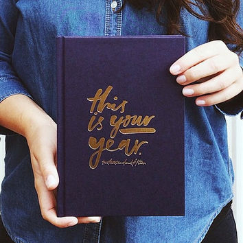 This is your year Diary, 2015 hardcover diary, 2015 diary, artist diary, Daily To Do List, , Bianca Cash 2015 Diary, daily planner
