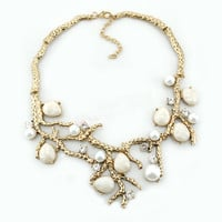 Stereocaulon Branches Statement Necklace