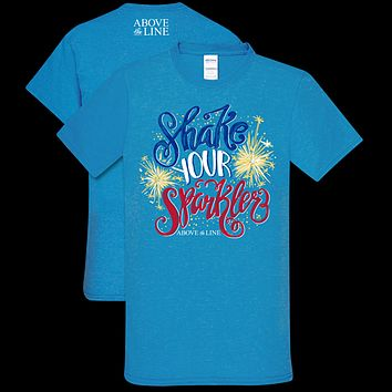 Couture Above The Line Soft Collection Shake Your Sparkle USA T-Shirt