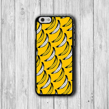 Tropical iPhone 6 Case Funny Yellow Banana Peeled Cartoon iPhone 6 Plus, iPhone 5S, iPhone 5 Case, iPhone 5C Case, Fruit iPhone 4/4S Case