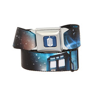 Dr. Who TARDIS Galaxy Seat Belt Belt | Hot Topic