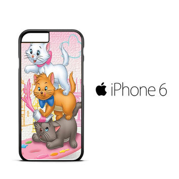 Aristocats cats A0182 iPhone 6 Case