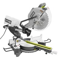 Ryobi 15 Amp 12 in. Sliding Miter Saw with Laser-TSS120L - The Home Depot