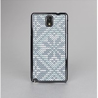 The Knitted Snowflake Fabric Pattern Skin-Sert Case for the Samsung Galaxy Note 3