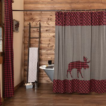 Cumberland Moose Shower Curtain