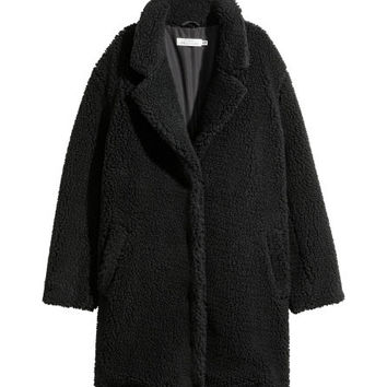 Short Pile Coat - from H&M