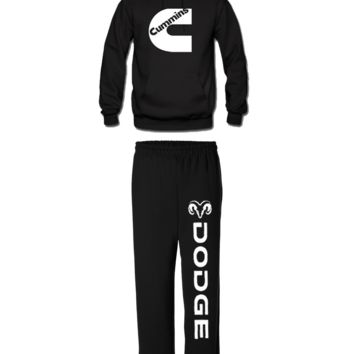 cummins matching hoodie sweatpants dodge cummins matching hoodie and sweatpants
