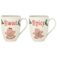 Lenox Home for the Holidays - Sweet and Spicy Mugs