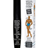 'What's Your Type?' The Body Builder Black Mascara