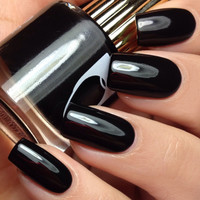 Floss Gloss Black Holy Nail Polish