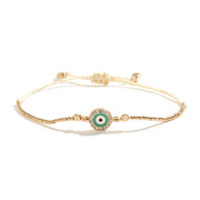 Spot On Gold Friendship Bracelet