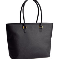 H&M - Shopper Bag - Black - Ladies