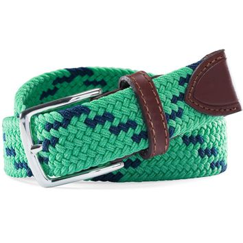 Braided Web Belt in Augusta Green by Southern Tide