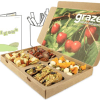 graze | healthy snacks by mail | get nature delivered