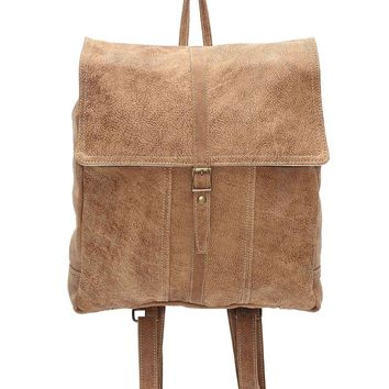 Myra Bag Jonsey Genuine Leather Backpack S-0974
