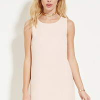 Crepe Shift Dress | Forever 21 - 2000186185