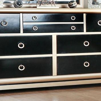 Zorah Contemporary Two-Tone 8-Drawer Dresser