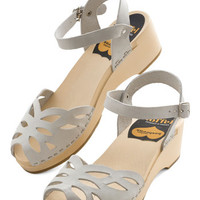Swedish Hasbeens Americana Butterfly Enclosure Wedge in Grey