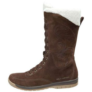 ESBYN3 Helly Hansen Eir 3 Boot - Women's 8 - Turkish Coffe / Angora / Sperry Gum