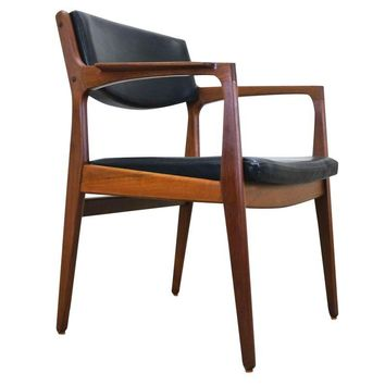 Pre-owned Danish Mid-Century Teak Side Chair by Orum