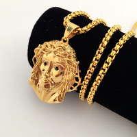 New Arrival Jewelry Gift Stylish Shiny Hip-hop Club Necklace [8439432323]