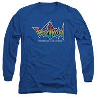 VOLTRON/LOGO-L/S ADULT 18/1-ROYAL BLUE