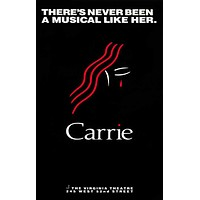 Carrie 11x17 Broadway Show Poster (1988)