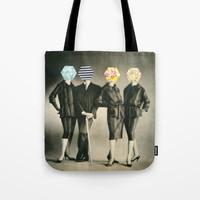 Modern Fashion Tote Bag by Cassia Beck