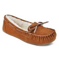 Women's Chaia Genuine Suede Moccasin Slippers - Mossimo Supply Co.™ : Target