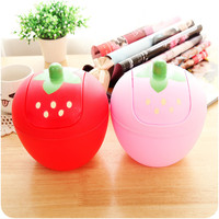 Innovative Fashion Lovely Strawberry Mini Rubbish Bin Korean Storage Bin [6395680900]