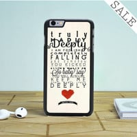 one direction truly madly deeply iPhone 6 Plus iPhone 6 Case