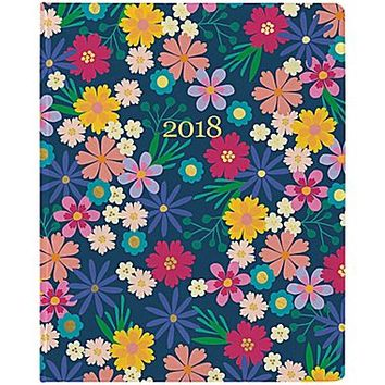 Erin Condren 2018 Hardbound LifePlanner™- Floating Florals, 8x10 | Staples®