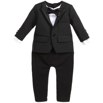 Dsquared2 Baby Boys Formal Tuxedo Onesuit