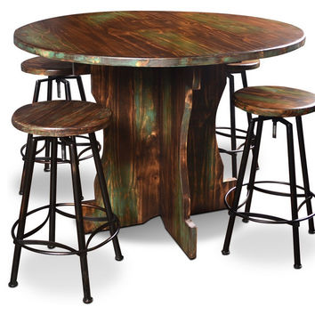 5-Piece Cabo Round Tasting Table