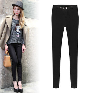 Fashion 2016 Trending Fashion Women Slim Trousers Pants