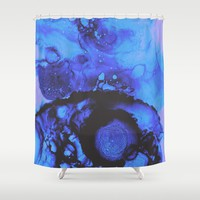 The Cool Down Shower Curtain by duckyb
