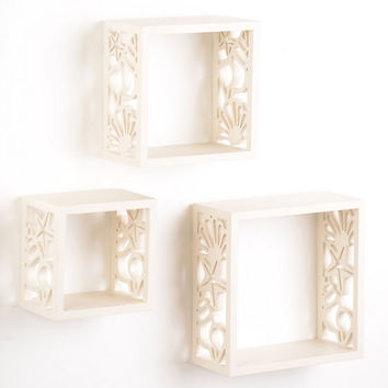 Coastal Cube, Set of 3