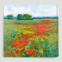 """Red Poppies I"" by Kim Coulter - World Market"