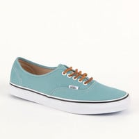 Vans Authentic Brushed Twill Blue Shoes at PacSun.com