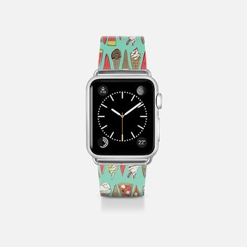 treats mint apple watch band Apple Watch Band (38mm)  by Sharon Turner | Casetify