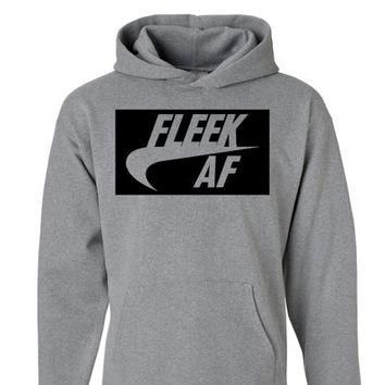 Fleek AF Unisex Hoodie | Eyebrows on Fleek Shirt | Drake Lit Fam Yeezy Drizzy Sweatshi