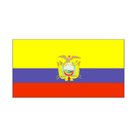90 * 150 cm flag Various countries in the world Polyester banner flag   Ecuador