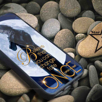 Once Upon Hook Believe iPhone Case, iPhone 4/4S, 5/5S, 5c, Samsung S3, S4 Case, Hard Plastic and Rubber Case By Dsign Star 08