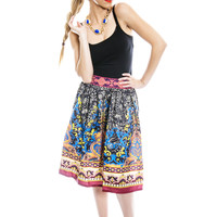 Gypsy Girl Midi Skirt