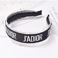 JADIOR Newest Popular Women Sweet Simple Wide Edge Headwrap Headband Head Hair Band Black