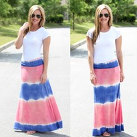 Let Yourself Be Free Maxi Skirt