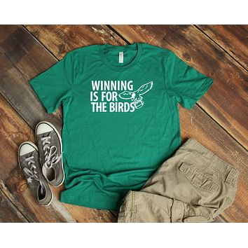 Winning Is For The Birds Soft Unisex Short-Sleeve T-Shirt