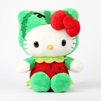 "Hello Kitty 8"" Fruit Plush: Watermelon"